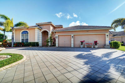 Royal Palm Beach Single Family Home For Sale: 2933 E Fontana Court