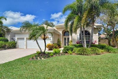 Palm Beach Gardens FL Single Family Home For Sale: $549,000