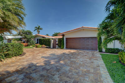 Pompano Beach Single Family Home For Sale: 2721 NE 8th Street