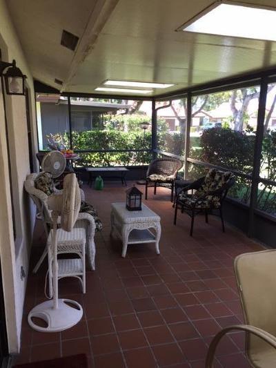 Boynton Beach Single Family Home For Sale: 5470 Palm Springs Lane #A