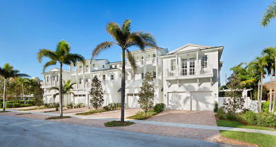 Delray Beach Townhouse For Sale: 110 Andrews Avenue #2b