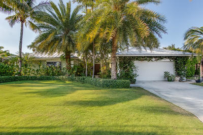 Singer Island Single Family Home For Sale: 1220 Fairview Lane