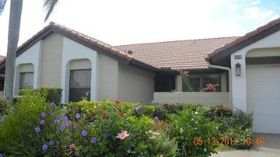 Boynton Beach FL Single Family Home For Sale: $185,000