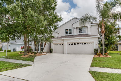 Palm City Single Family Home For Sale: 3411 SW Islesworth Circle