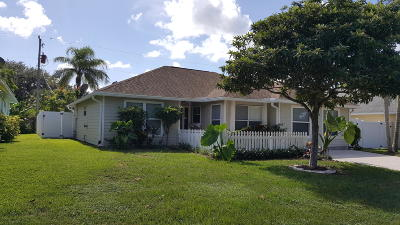 Jupiter Single Family Home For Sale: 14635 Heights Boulevard