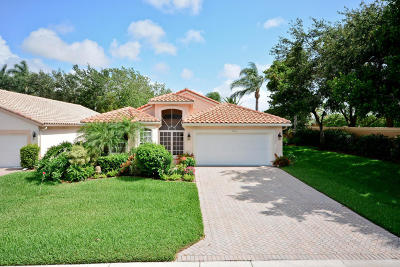 Boynton Beach Single Family Home For Sale: 5017 Glenville Drive