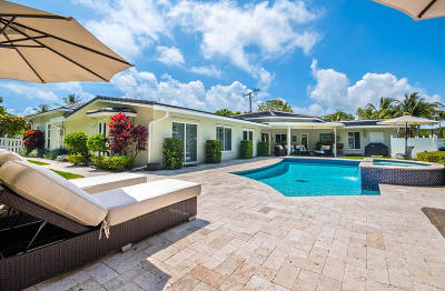 Boynton Beach Single Family Home For Sale: 5700 Ocean Boulevard