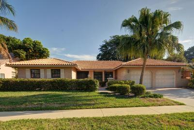 Boca Raton Single Family Home For Sale: 20063 Back Nine Drive