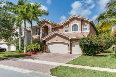 Boynton Beach Single Family Home For Sale: 11373 Misty Ridge Way