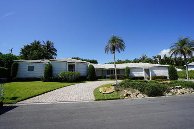 Palm Beach Single Family Home For Sale: 240 Osceola Way