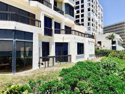 Highland Beach Townhouse Sold: 3201 S Ocean Boulevard #Th101