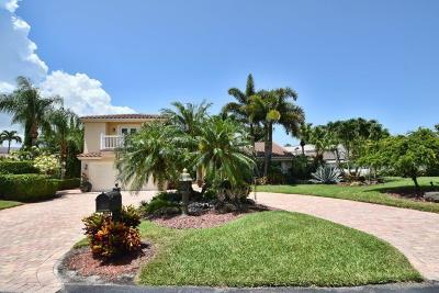 Boca Raton Single Family Home For Sale: 7004 Woodbridge Circle
