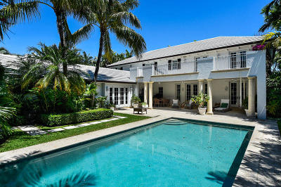 Palm Beach Single Family Home For Sale: 310 Eden Road