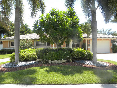 Deerfield Beach Single Family Home Contingent: 1642 SE 7th Street