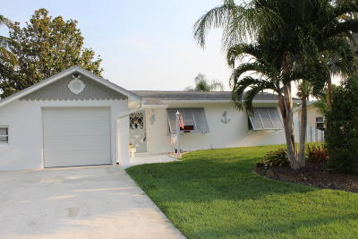 Palm City Single Family Home For Sale: 1769 SW Dyer Point Road