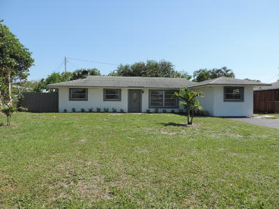 Palm Beach Gardens Single Family Home For Sale: 4292 Crestdale Street