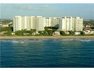 Palm Beach County Rental For Rent: 3740 S Ocean Boulevard #703