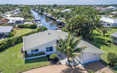 North Palm Beach Single Family Home Contingent: 667 Anchorage Drive