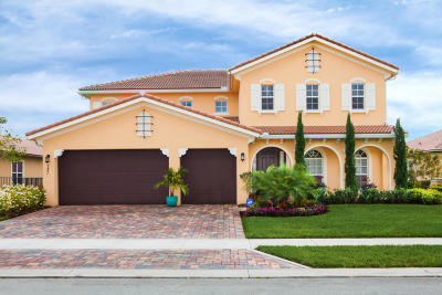 Jupiter Single Family Home For Sale: 131 Steeple Circle