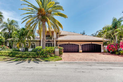 Boca Raton Single Family Home For Sale: 212 W Alexander Palm Road
