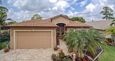 Stuart Single Family Home Contingent: 8946 SW Fishermans Wharf Drive