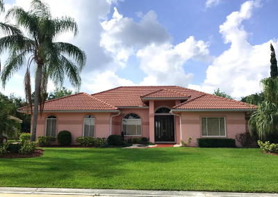 Hobe Sound Single Family Home For Sale: 8024 SE Windjammer Way