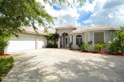 Jupiter Single Family Home Contingent: 9879 150th Court
