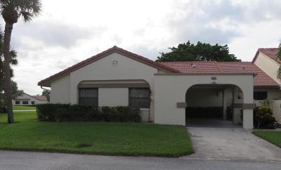 Boynton Beach Single Family Home For Sale: 5510 Parkwalk Circle E