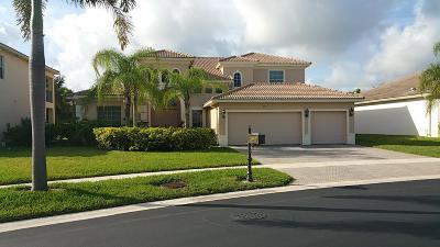 Royal Palm Beach Single Family Home For Sale: 2957 Fontana Place