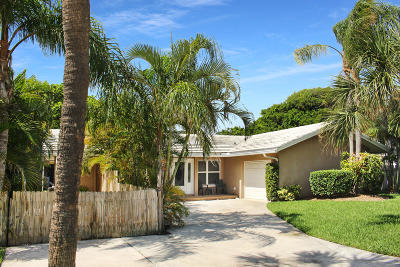 Singer Island Single Family Home For Sale: 1137 Island Road