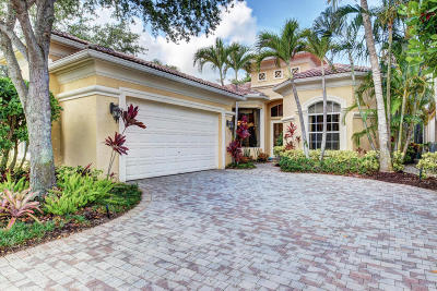 Palm Beach Gardens Single Family Home Contingent: 142 Porto Vecchio Way
