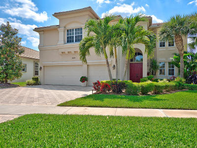 Royal Palm Beach Single Family Home For Sale: 2144 Bellcrest Circle