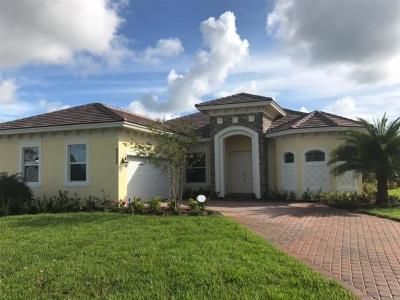 Fort Pierce Single Family Home Contingent: 9500 Poinciana Court