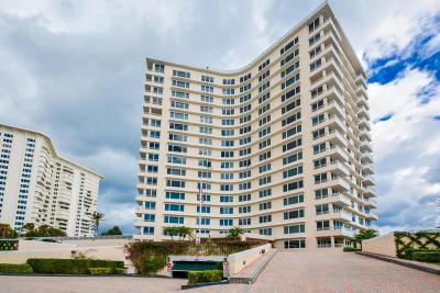 Sabal Shores, Sabal Shores Apts Condo, Sabal Shores Condo Condo For Sale: 600 S Ocean Boulevard #1102
