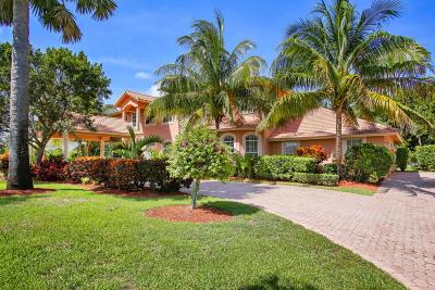 Lake Worth Single Family Home For Sale: 6746 W Calumet Circle