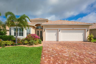 Boynton Beach Single Family Home Contingent: 8389 Cameron Cave Drive