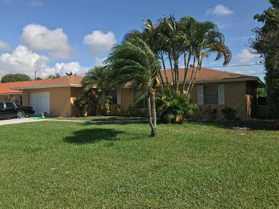 Boynton Beach Single Family Home For Sale: 3835 Dorrit Avenue