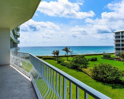 Palm Beach Condo For Sale: 2000 S Ocean Boulevard #306 S