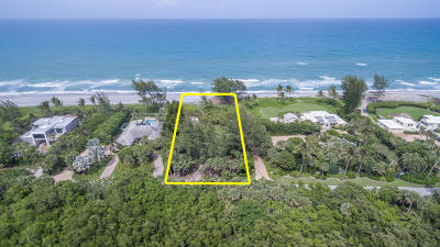 Hobe Sound Residential Lots & Land For Sale: 75 Beach Road