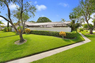 Palm Beach Gardens Single Family Home Contingent: 5812 Golden Eagle Circle
