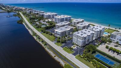 Palm Beach Condo For Sale: 3200 S Ocean Blvd Boulevard #D 101