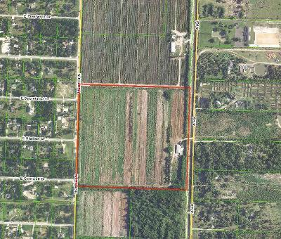 Palm Beach County Residential Lots & Land For Sale: 2240 A Road