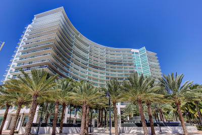 Broward County Rental For Rent: 1 Ocean Boulevard #1510