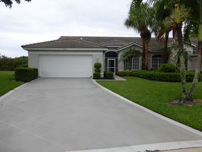 Boynton Beach Single Family Home For Sale: 7780 Rockford Road