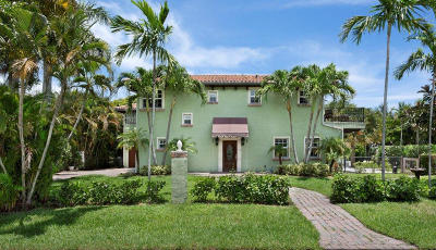 Delray Beach FL Single Family Home For Sale: $1,025,000