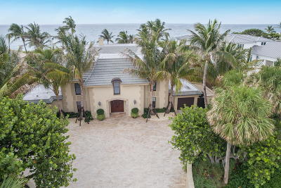 Jupiter Inlet Colony Single Family Home For Sale: 241 Ocean Drive