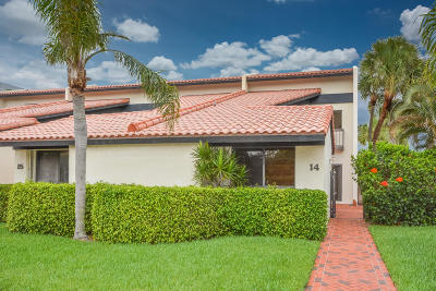 Palm Beach Condo For Sale: 3474 S Ocean Boulevard #14