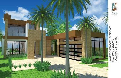 Boca Raton Single Family Home For Sale: 1190 SW 21st Lane