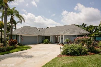 Tequesta Single Family Home For Sale: 10820 SE SEminole Terrace