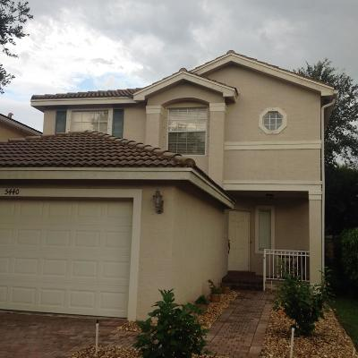 Lake Worth Single Family Home For Sale: 5440 Wellcraft Drive